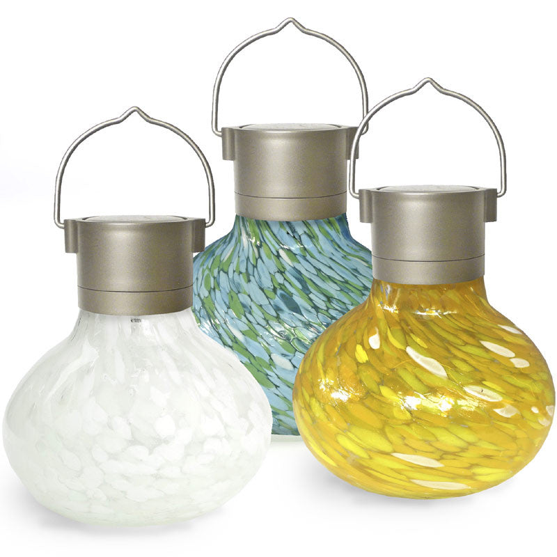Tea Lantern Solar Glass Votive