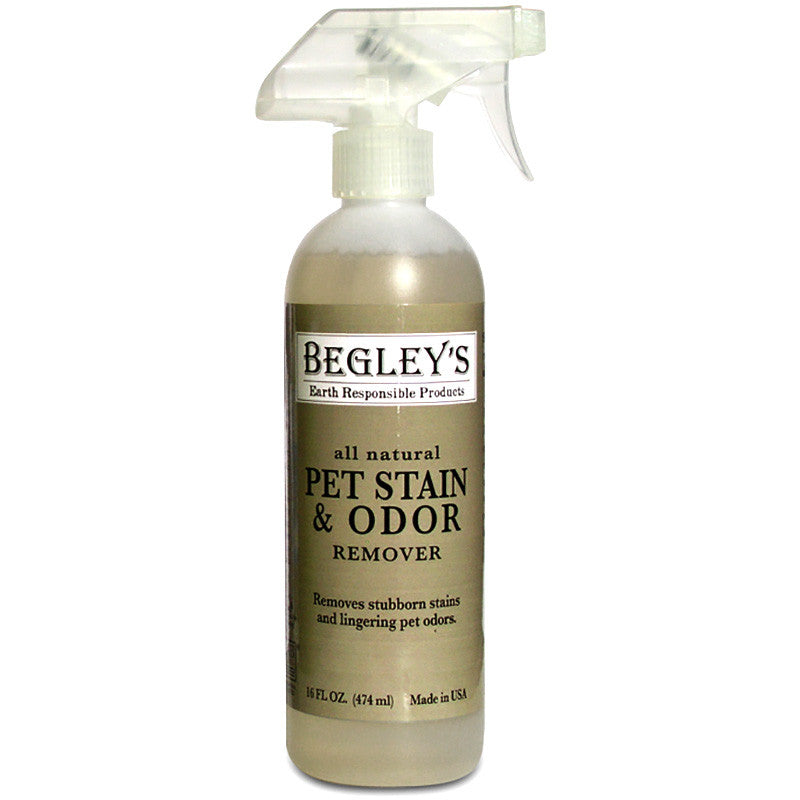 Case - Begley's Pet Stain + Odor Remover