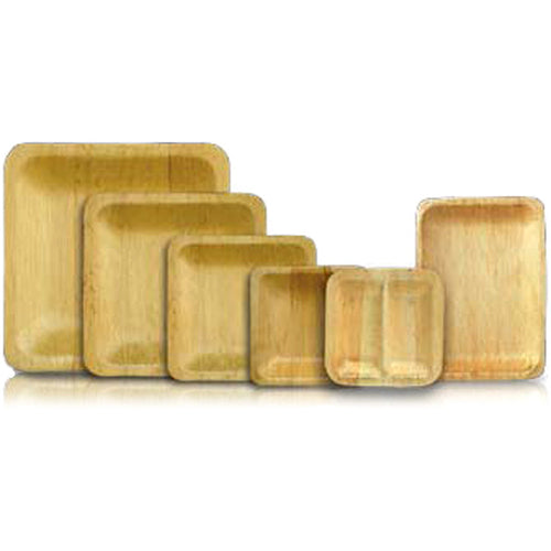 Bamboo Disposable Square Plates
