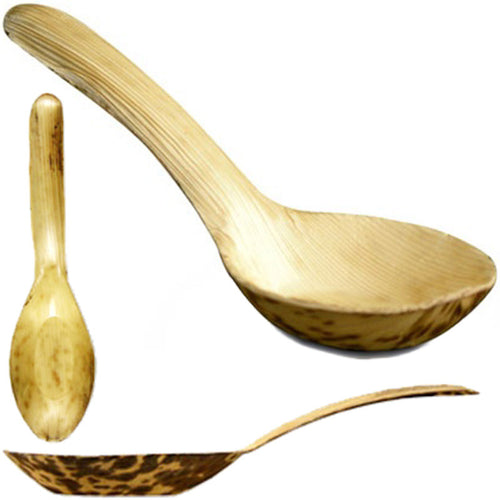 Bamboo Disposable Asian Spoons