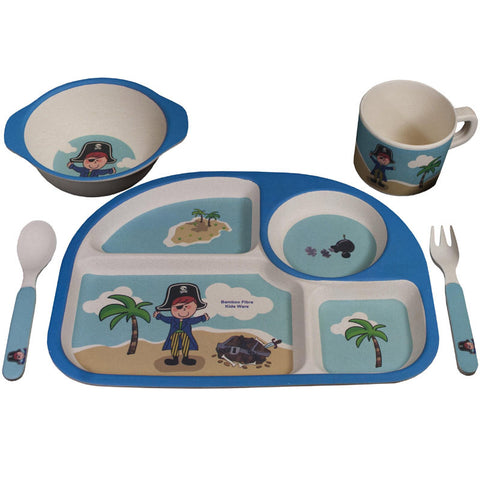 Bambooware Kids Pirate Set