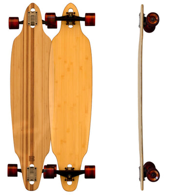 Directional Drop Through Bamboo Longboards