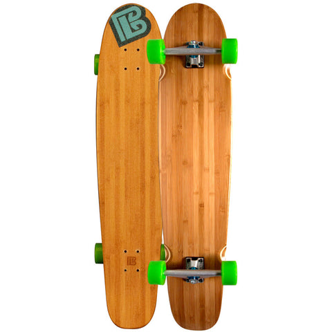 Double Kick Bamboo Longboards