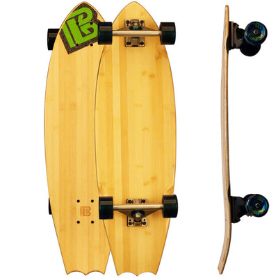Bat Tail Blank Bamboo Skateboards