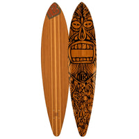 Pintail Tiki Man Bamboo Longboards