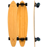 Square Tail Bamboo Longboards