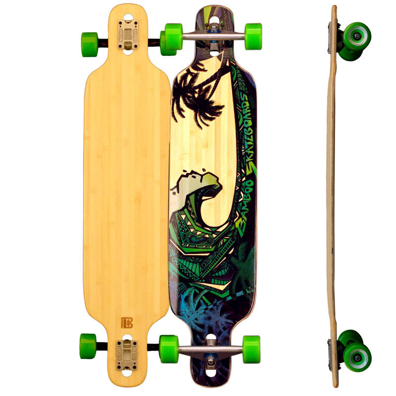 Twin Tip DT Green Giant Longboards