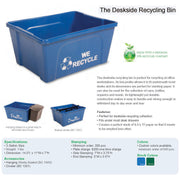 Deskside Recycling Bin