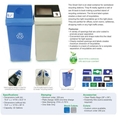 Smart Sort Recycling System