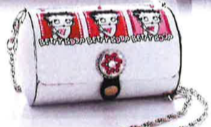 Little Earth Betty Boop Super Cyclone Purse