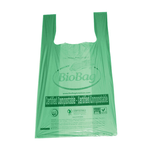 100% Compostable Shopping Bags