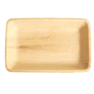 Palm Leaf Rectangle Plates