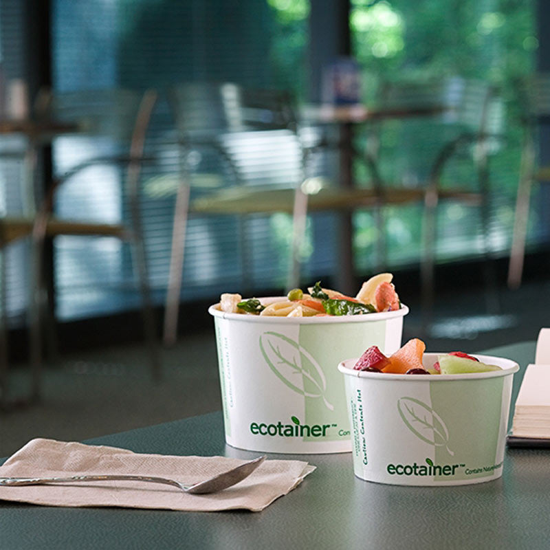 Ecotainer Compostable Hot Food Containers