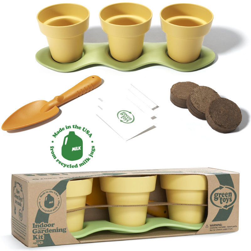 Indoor Gardening Kit Indoor gardening kit have no phthalates or bpa by green toys green toys indoor gardening kit workwithnaturefo