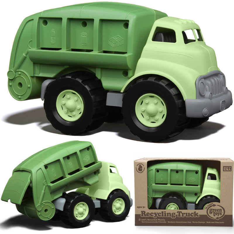 Green Toys Recycling Trucks