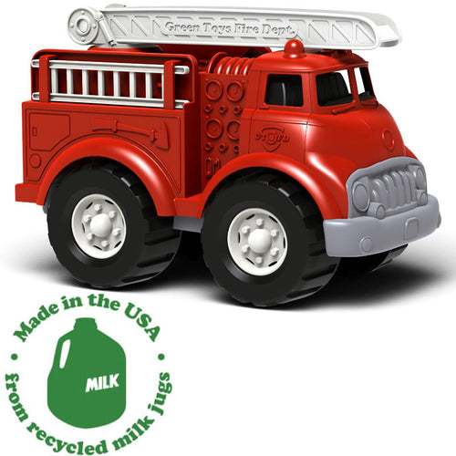 Green Toys Fire Trucks