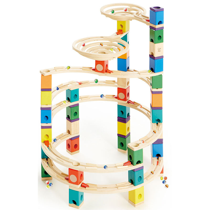Cyclone Quadrilla Marble Run
