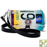 Cyclone License Plate Purse