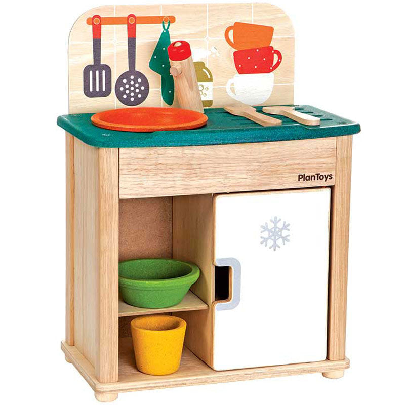 Kitchen Play Sink and Fridge