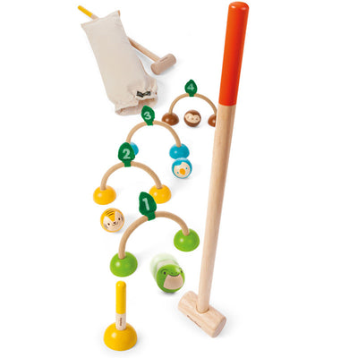 Wooden Child Croquet Set