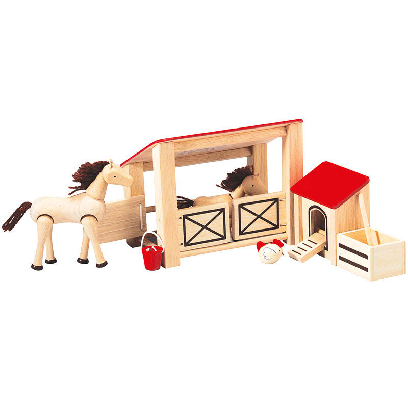 Child Play Stables and Horse