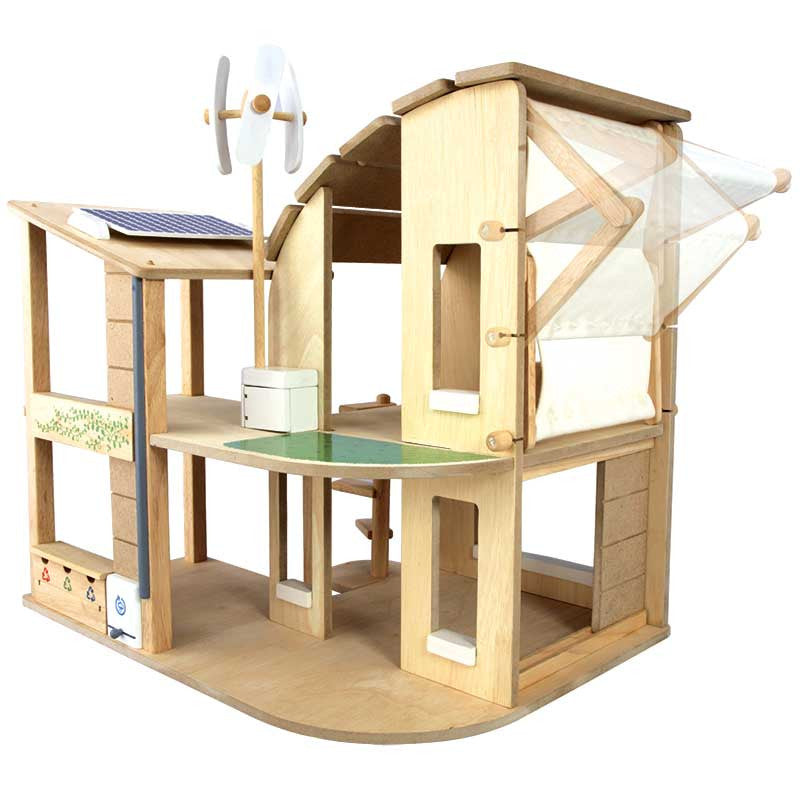 Kids Green Play Dollhouse