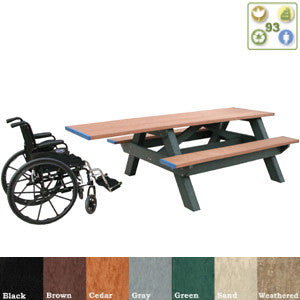 Handicap Picnic Table