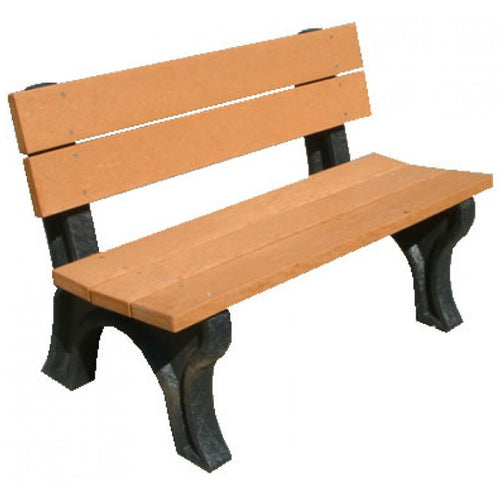 Traditional Backed Bench