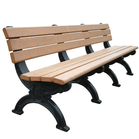 Silhouette Backed Bench