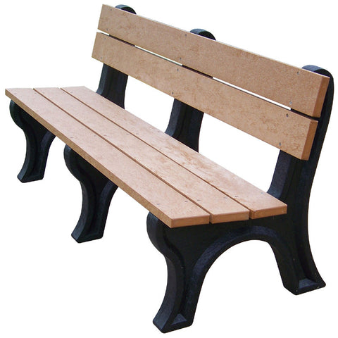 Econo-Mizer Traditional Backed Bench