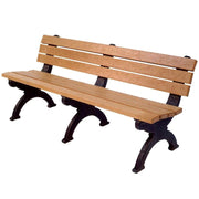 Monarque Backed Bench