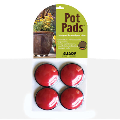 Pot Pad 4Pk-Cherry
