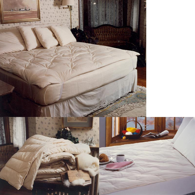 wool mattress pads and toppers