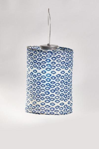 Soji Printed Tribal Diamond Cylinder