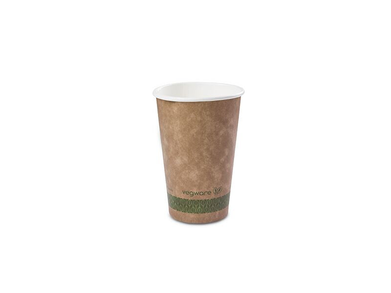 Vegware Brown Kraft Hot Cup