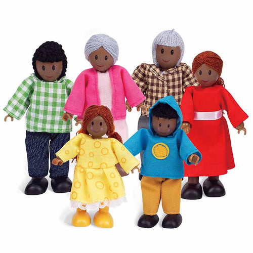 African American Happy Family by Hape Toys