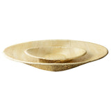 Bamboo Disposable Oval Serving Bowls