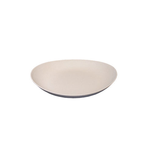 Large Double Wall Deep Plate by Bambooware