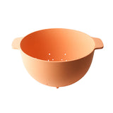 12.75 Inches Large Orange Colander by Bambooware