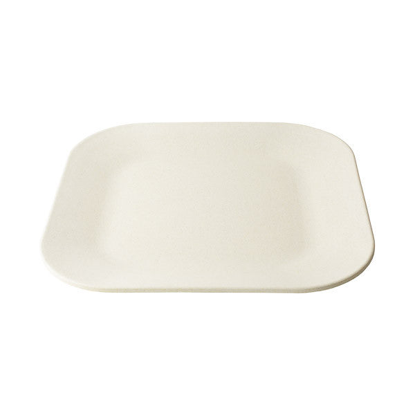 11 in Square Malibu Plate by Bambooware