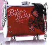 Little Earth Betty Boop MiniFlair with Swarovski crystals