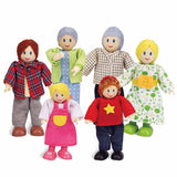 Caucasian Happy Family by Hape Toys