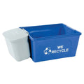 Hanging Waste Basket by Busch Systems