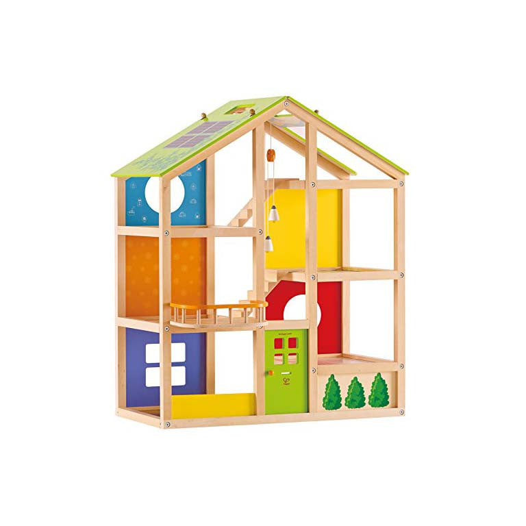 Unfurnished All Season House by Hape Toys