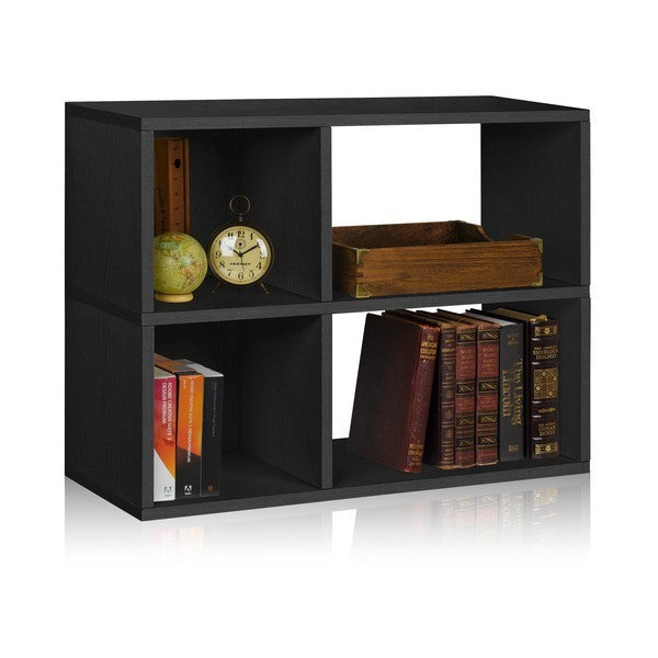 Black Chelsea Bookshelf Bookcase by Way Basics
