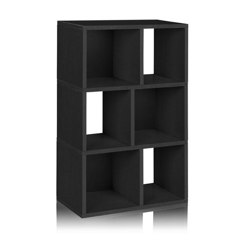 Black Laguna Book Case by Way Basics