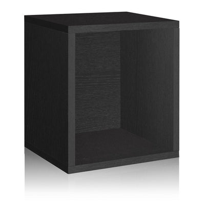 Black Storage Cube Plus by Way Basics