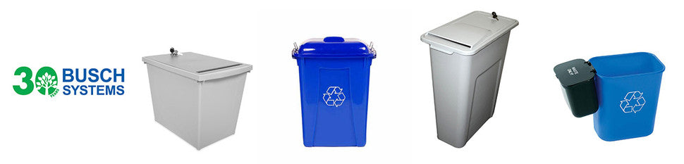 Busch Systems High-quality, Customized Recycling and Waste Containers