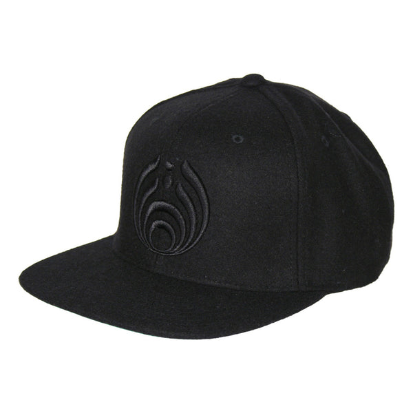 Bassnectar Snapback - Black on Black