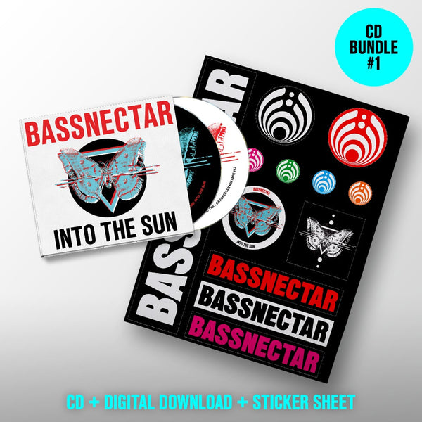 Bassnectar Into The Sun - CD + Stickers